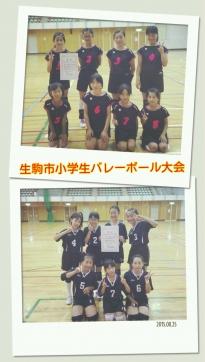 生駒市小学生バレーボール大会
