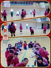 練習試合!