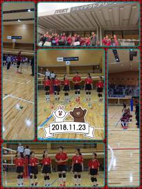 第39回奈良県小学生バレーボール選手権決勝大会